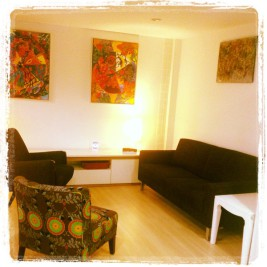 This is once of the Counselling rooms at Bangkok Counselling Service